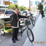 Nản xì dầu, qua San Francisco đạp xe lôi…