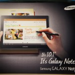 Chiếc tablet Samsung GALAXY Note 10.1