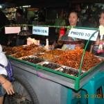 Món quà vặt côn trùng ở Bangkok