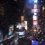 Nghi thức đón Giao thừa 2013 trên quảng trường Times Square ở New York