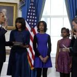 Tổng thống Hoa Kỳ Barack Obama tuyên thệ nhậm chức tại Nhà Trắng ngày 20-1-2013