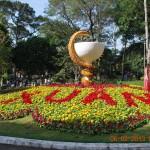 Lang thang Hội Hoa Xuân Tao Đàn (Saigon) Tết Qúy Tị 2013 qua video clip