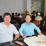 Mùng Hai Tết Quý Tị 2013 cùng bạn già Lương Minh