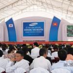 Khởi công nhà máy Samsung Electronics tại Thái Nguyên