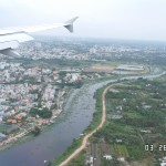 Saigon bên dưới cánh máy bay