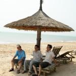 Những tấm ảnh kỷ niệm với gia đình anh Lê Hoàn