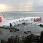 Một tai nạn máy bay hy hữu ở Bali: máy bay mắc cạn