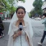 Cô dâu nhà báo bỏ dở đám cưới đi đưa tin động đất ở Tứ Xuyên