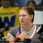 Nữ quân nhân Mỹ chống chiến tranh Iraq đầu tiên ra tòa