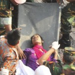 Phép lạ ở Bangladesh: một cô gái sống sót sau 17 ngày bị vùi lấp