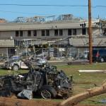 Có mặt tại thành phố Moore sau tornado