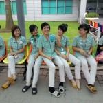 Những cô gái xuân thì Samsung Bắc Ninh