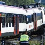 Hai đoàn tàu hỏa Thụy Sĩ húc đầu vào nhau