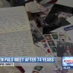 Đôi bạn gặp nhau sau 74 năm viết 3.000 lá thư cho nhau