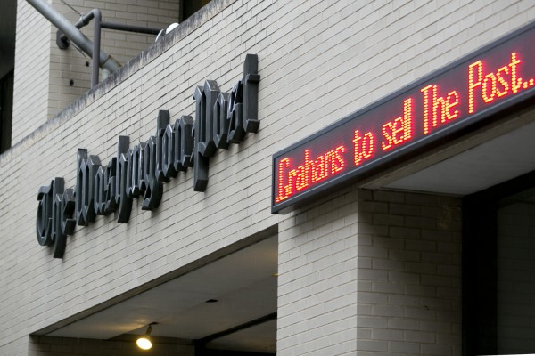Amazon's Bezos Bets $250 Million on Washington Post Revival
