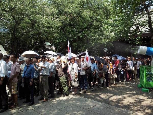 130815-japanese-Yasukuni Shrine-02