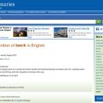 Từ điển tiếng Anh Oxford bổ sung thêm những từ mới