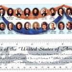 Cây thước có 44 vị tổng thống Mỹ + 1