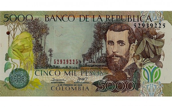 the world's 10 least valuable currencies-03-Columbian peso
