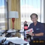 LANG THANG SAN FRANCISCO ĐẦU THU 2013: Tôi ăn gì, uống gì trong khách sạn 5 sao ở San Francisco?