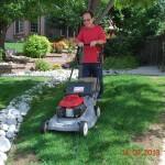 Tôi học nghề cắt cỏ ở Colorado