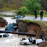 """Đợt mưa """"thiên niên kỷ"""" ở Colorado"""