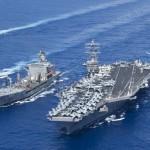 Tàu sân bay Mỹ trực chỉ Syria