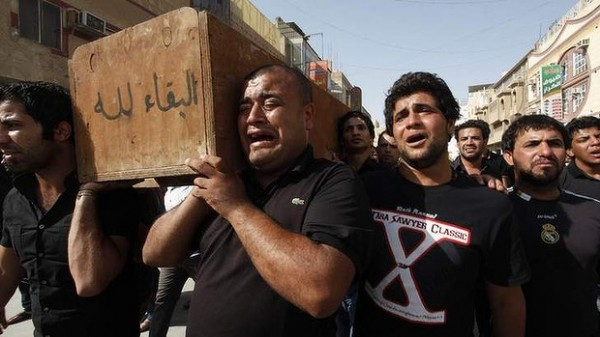 131006-iraq-yunus-ismail-victim-killed-by-suicide-bombers