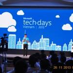 """Ngày hội công nghệ Microsoft Tech-Days 2013 với chủ đề """"Sức mạnh từ đám mây"""""""