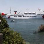 Tàu bệnh viện Trung Quốc chuẩn bị sang cứu nạn ở Philippines