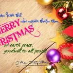 MỪNG CHÚA GIÁNG SINH! Merry Christmas!
