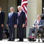 Bốn vị tổng thống Mỹ qua Nam Phi viếng ông Mandela
