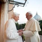 Bữa ăn trưa của hai vị Giáo hoàng Vatican