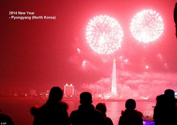 2014-new-year-fireworks-korea-pyongyang