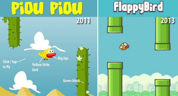 Piou-vs-Flappy-bird
