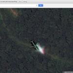 "Chiếc máy bay ""ma"" trên Google Maps"