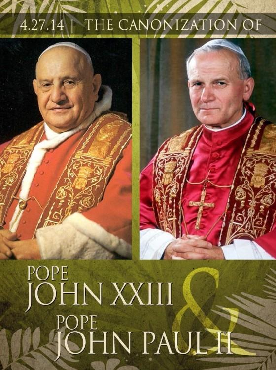 pope-john-XXIII-john-paul-II