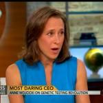Người phụ nữ đem xét nghiệm DNA tới thị trường rộng rãi