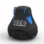 Máy quay video Full HD 360 độ đầu tiên trên thế giới