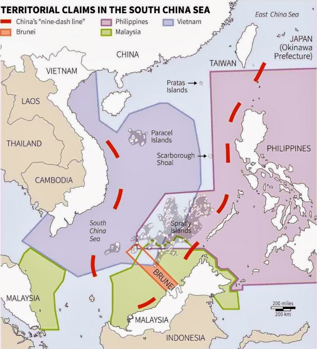 nine-dash line-china