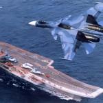 Tàu sân bay Nga tỉnh bơ đi vào lãnh hải NATO