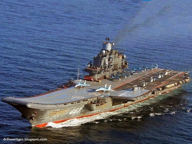 russia-carrier-Admiral Kuznetsov-3