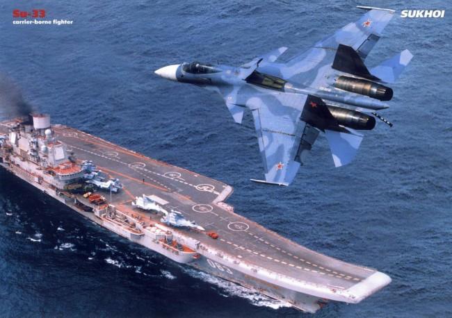 russia-carrier-Admiral Kuznetsov