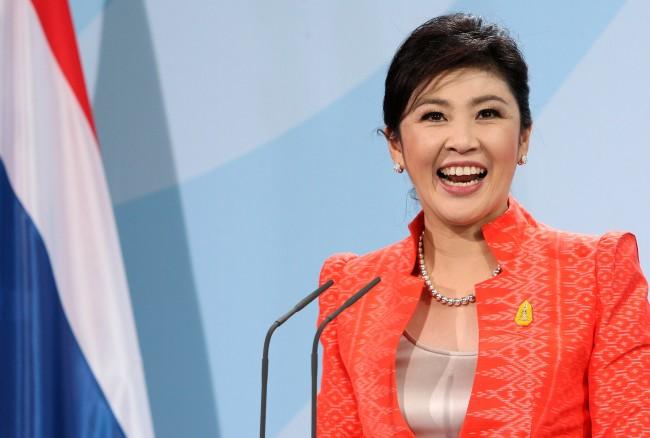Thai Prime Minister Yingluck Visits Berlin