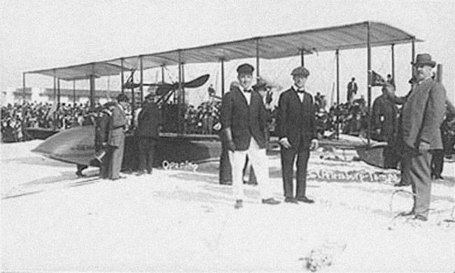 Benoist flying boat-1914