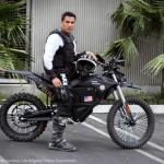 Cảnh sát Los Angeles tuần tra bằng môtô điện
