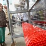 Trạm xe buýt lắp ráp theo kiểu Lego