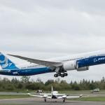 Máy bay Boeing 787-9 Dreamliner đã nhận lệnh cất cánh
