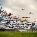 100 năm hành khách được bay tới bay lui