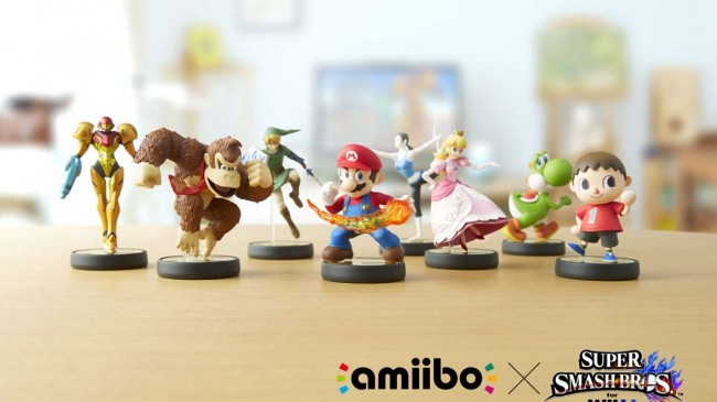 nintendo-Interactive Amiibo Action Figures